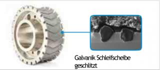 EHWA Schleifscheibe in Galvanikbindung