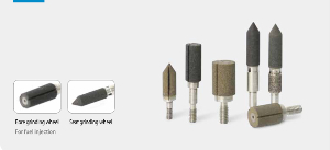 Einspritzkomponentenschleifen mit EHWA Schleifstifte