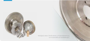 Rotatiosnwerkzeugschleifen mit EHWA Schleifscheiben